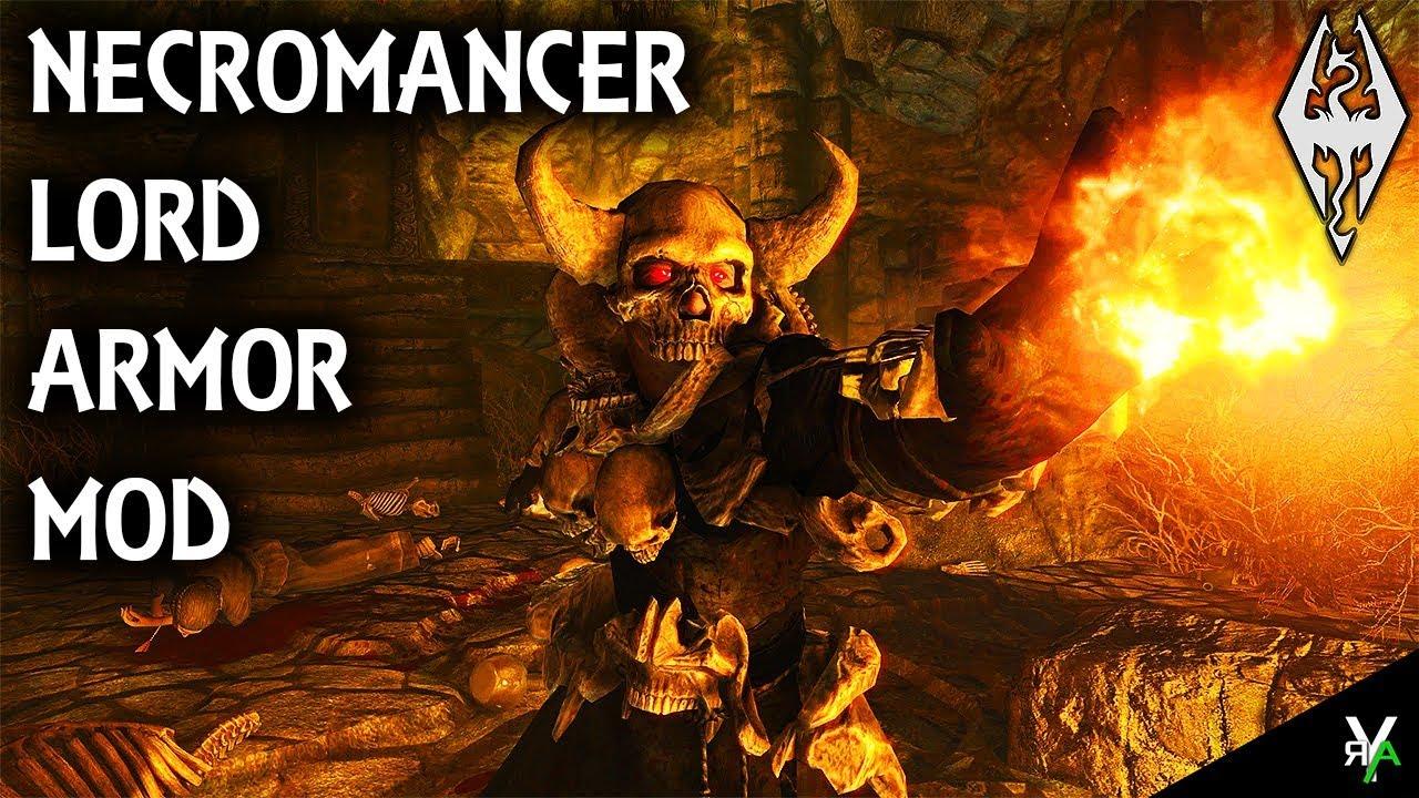 Necromancer Lord Armor Armor Mod Xbox Modded Skyrim Mod Showcase