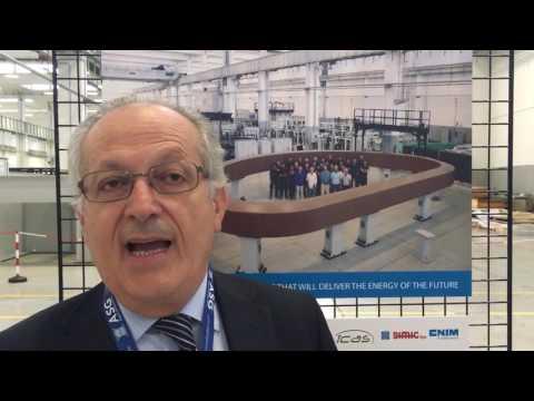 Aldo Pizzuto, ENEA sulla presentazione del supermagnete