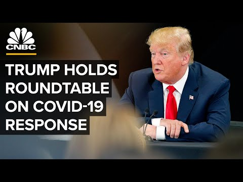 WATCH LIVE: Trump participates in a Covid-19 response and storm preparedness roundtable — 7/31/2020