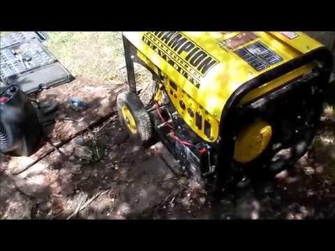champion generator repair