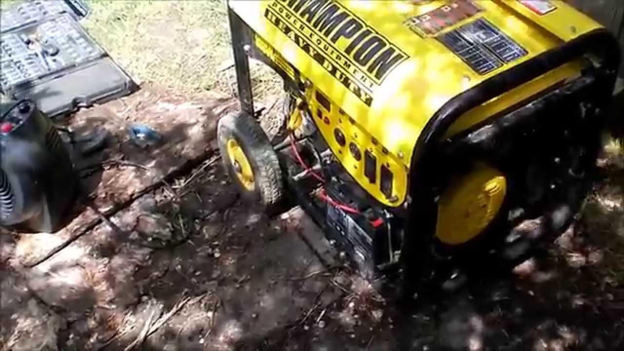 small resolution of champion generator repair