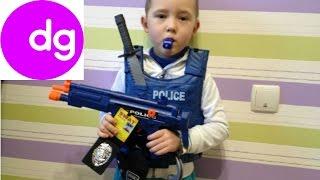 ДЕТСКИЙ ПОЛИЦЕЙСКИЙ НАБОР игрушки распаковка CHILDREN POLICE TOY SET unpacking