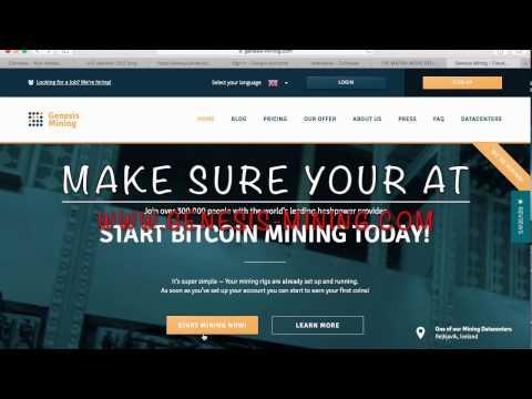 Genesis Mining Quick Start (Toot) Tutorial 1(Bitcoin Dash Ethereum)