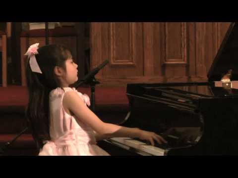 Umi Garrett age 9  Chopin FantasyImpromptu