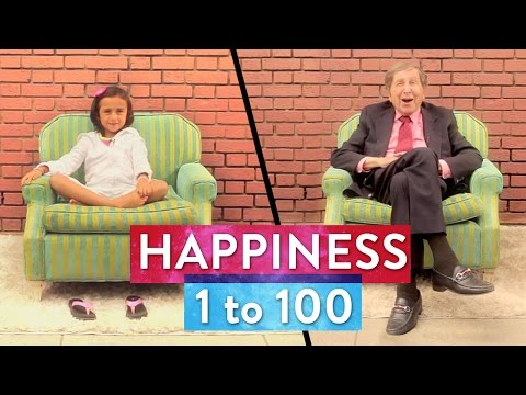 BEING HAPPY: From 1 to 100! | SoulPancake Street Team