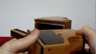 Piano Puzzle Box