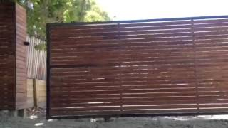 Rjl Fencing Sliding Gate Install/ Blackburn