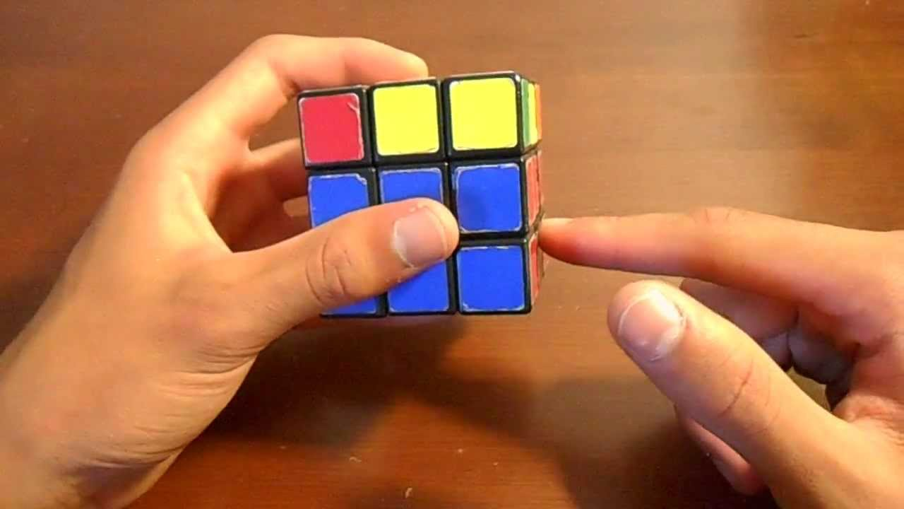 how to solve 2x2 cube last layer