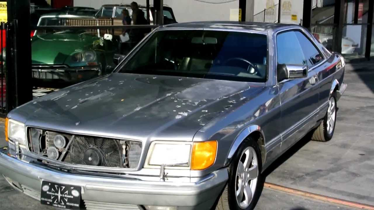 1987 mercedes benz 560sec coupe w126 125k miles 2 owner classic v8 c126 2999 youtube. Black Bedroom Furniture Sets. Home Design Ideas