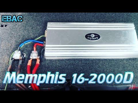 Instalando Amplificador Para Bajos   Memphis 16-2000D