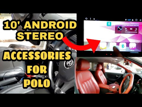 volkswagen polo android stereo || accessories for polo