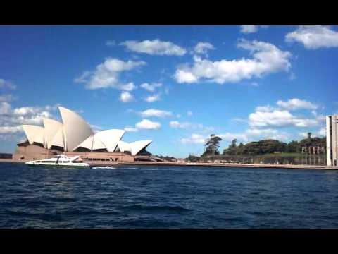 Sony Ericsson Xperia X10 Video Test Opera House Sydney, Australia