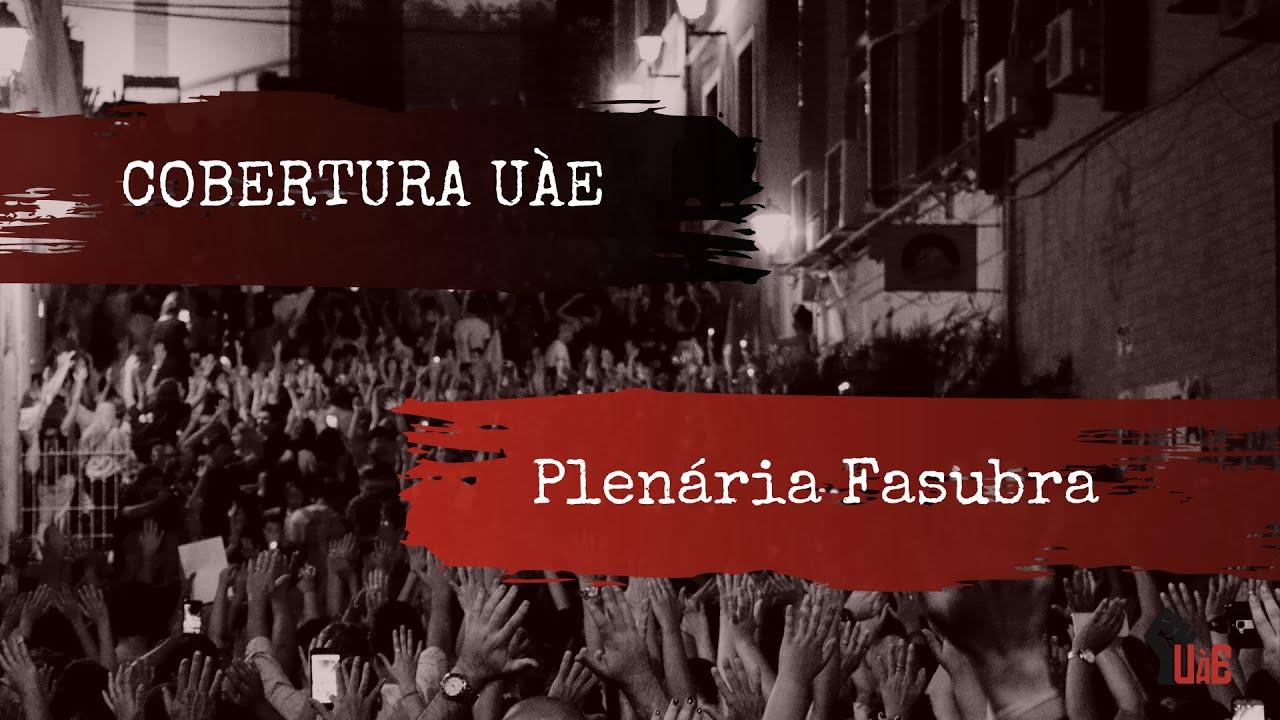 Plenária da Fasubra declara apoio à Greve Estudantil da UFSC