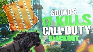 17 KILLS CARRY - Squads With Jericho, Hutch, & TimTheTatman  - Call Of Duty: Blackout BR