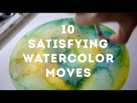 Relax With Watercolor 10 Simple Ways to De-Stress Your Mind