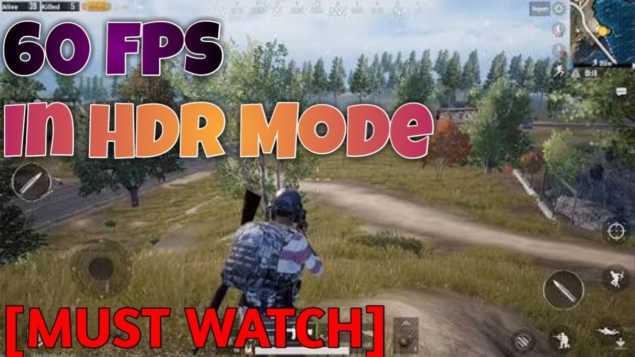 How To Run PUBG Mobile In HDR Mode In Non Supported Android Device