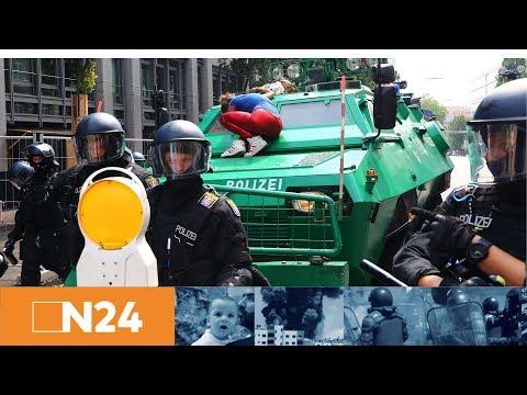 N24 Nachrichten - Offizielle Gipfeleröffnung - Polizei-Pressekonferenz zur aktuellen Lage in Hamburg