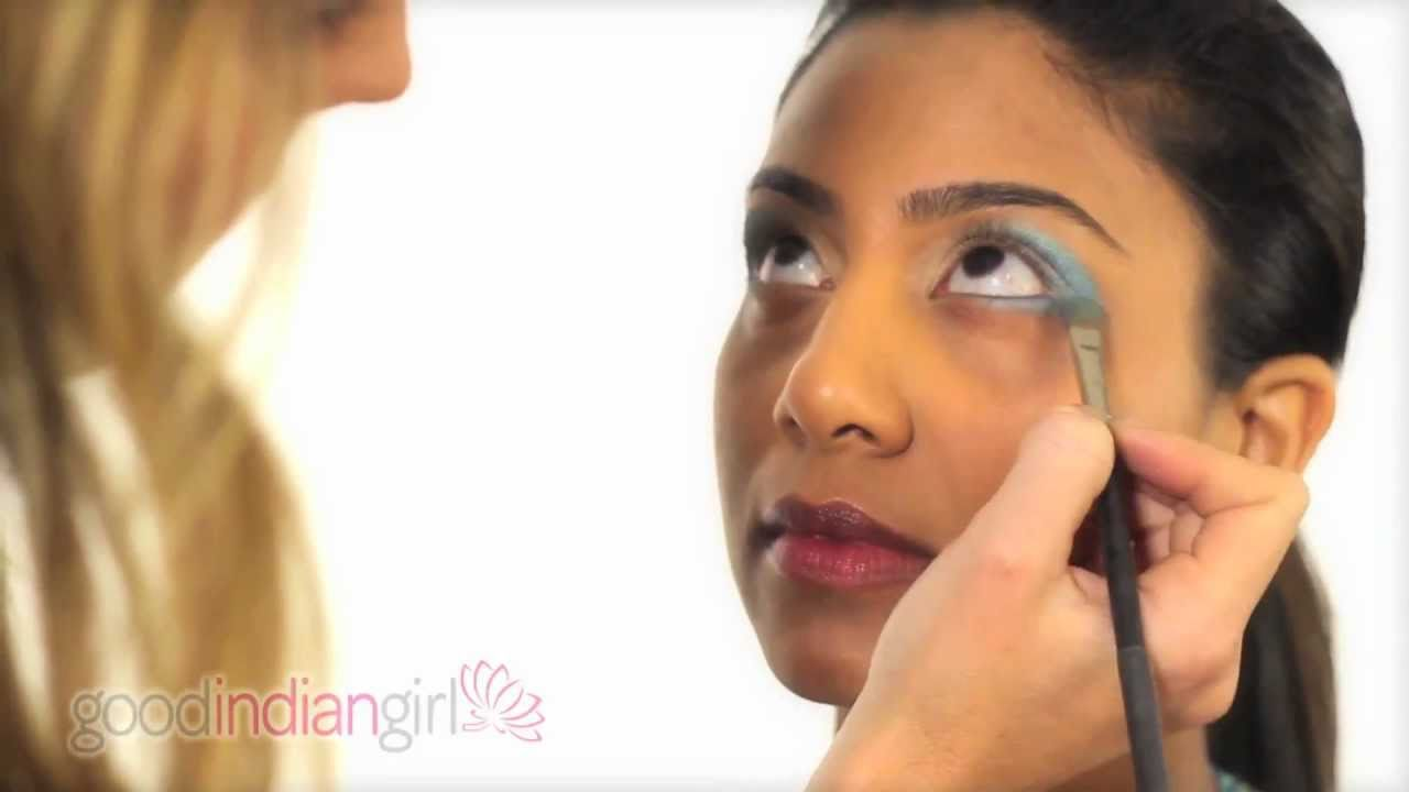 How to Apply Bollywood Make-Up - YouTube