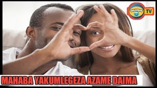 Mdatishe Mpenzi Wako Kwa Maneno Haya Matamu Ya Mahaba Mazito
