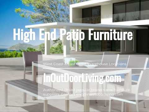 Zuo Modern Contemporary High End Patio Furniture Set Youtube