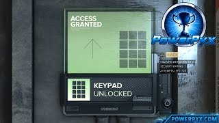 Deus Ex Mankind Divided  A Heated Combination Trophy  Achievement Guide  Enter a classic numerical code in the games first keypad Bronze  10G