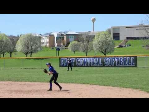 East Central College Softball vs. St. Charles Community College - April 9, 2019