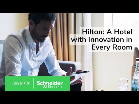 IoT EcoStruxure™ at Hilton Garden Inn Dubai Mall of the Emirates Ensures Efficiency