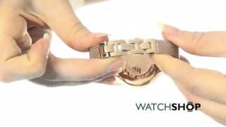 emporio armani ladies chronograph watch ar7391