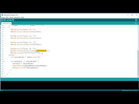 5.1.2 - DigitalRead() (Curso Arduino Aula 20)