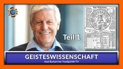GEISTESWISSENSCHAFT - Axel Burkart - TEIL 1