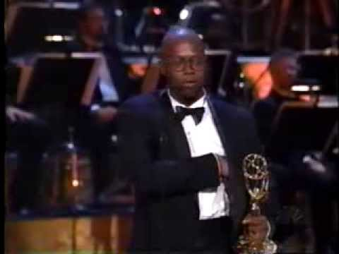 Andre Braugher wins 1998 Emmy Award for Lead Actor in a Drama Series
