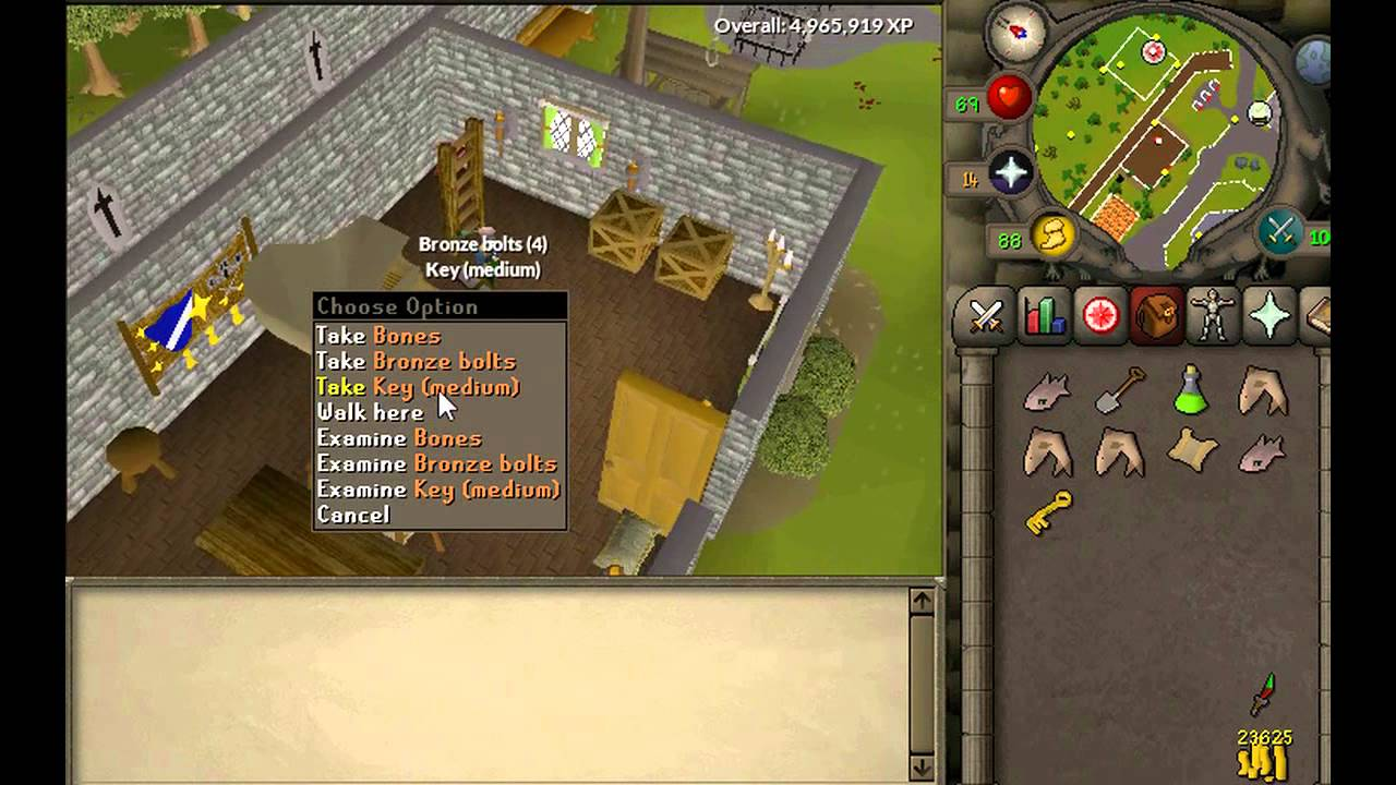 Runescape Clue Scroll In A Town Where Wizards Are Known To Gather