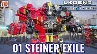 One Commando Against Them All! - 01 Steiner Exile - Modded Mechwarrior 5:Mercenaries DLC