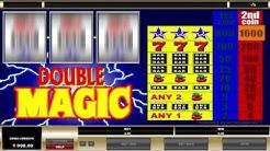 Free Double Magic slot machine by Microgaming gameplay ★ SlotsUp