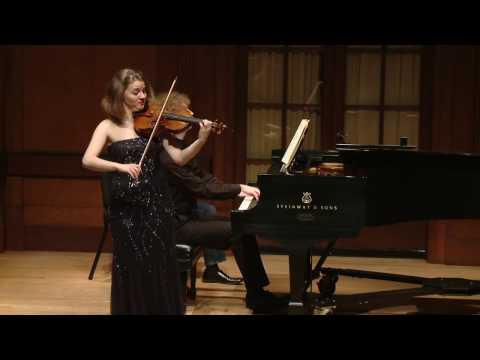 Ania Filochowska - Tchaikovsky Violin Concerto