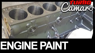 1967 Camaro - Chevy 250 Inline 6 - How to Prep & Paint an Engine Block