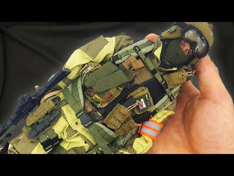 Russian Spetsnaz FSB Alpha Group ЦСН ФСБ России Спецназ Альфа - фигурка 1/6 Scale Figure GSoldiers