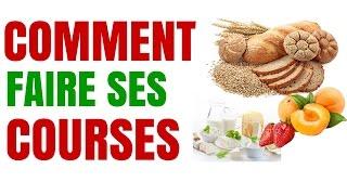 Nutrition: Comment Faire Ses Courses