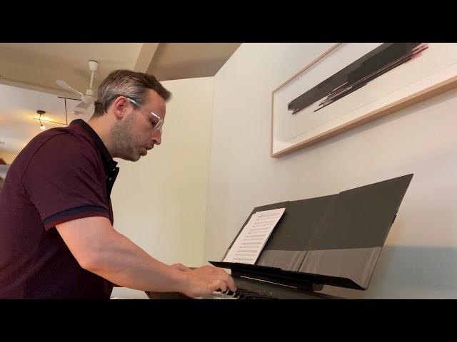 Cours de piano montreal: la valse de la  fleur rouge d'Anne Lauber