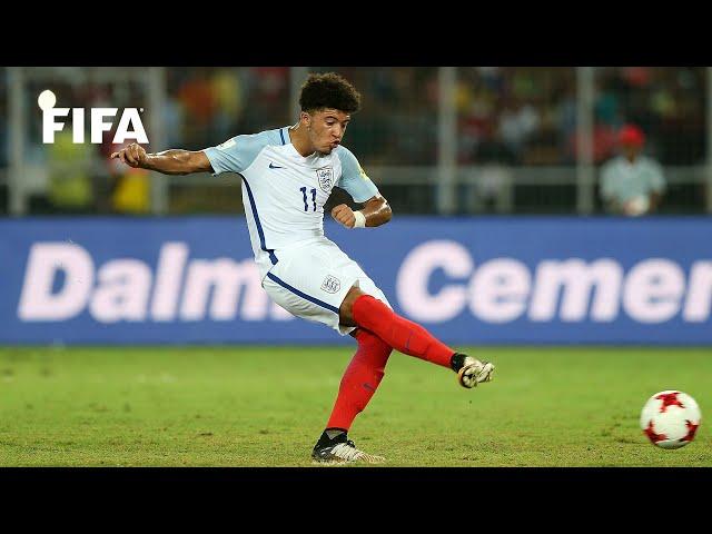 When Jadon Sancho starred at FIFA U-17 World Cup India 2017