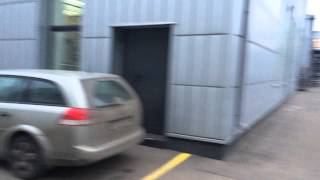 """Очень удобная парковка у футбольного клуба """"Футибол"""""""