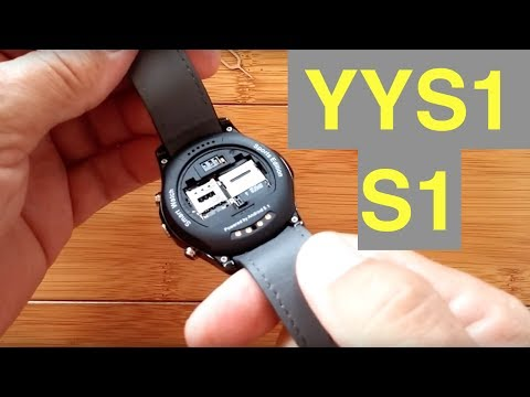 YYS1 (S1) Round Android 5.1 Smartwatch with microSD Support: Unboxing & 1st Look
