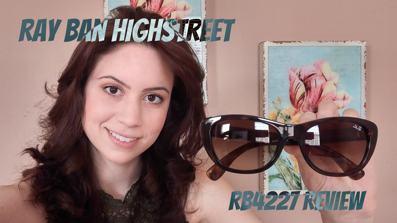 087e9d8a0b14 Ray-Ban RB4227 Review - YouTube