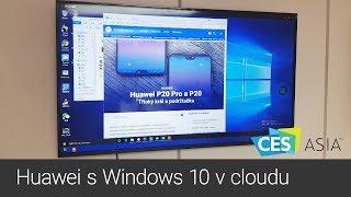 Vyzkoušeli jsme mobil Huawei s Windows 10 v cloudu