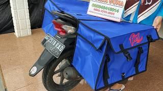 Promo Tas Motor Obrok / kurir / Sales Ukuran Jumbo
