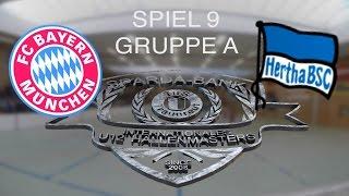 Spiel 09: FC Bayern München - Hertha BSC Berlin 2:0 / U12 Hallenmasters TuS Traunreut 2016