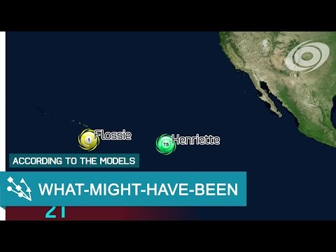 1989 What-might-have-been Pacific Hurricane Season