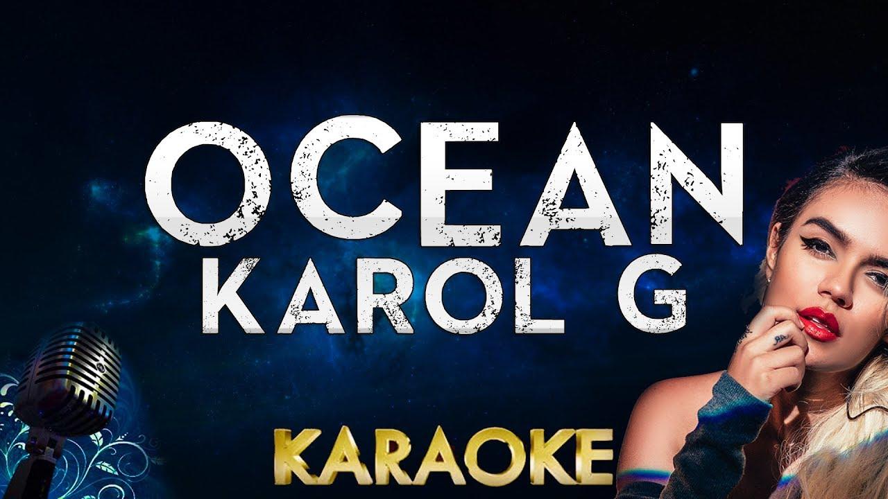 Karol G - Ocean (Karaoke Instrumental)
