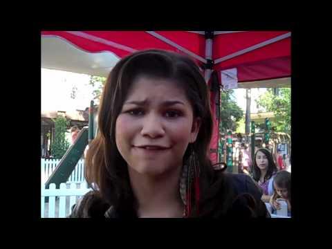 ZENDAYA At Radio Disney's ANT FARM Event!