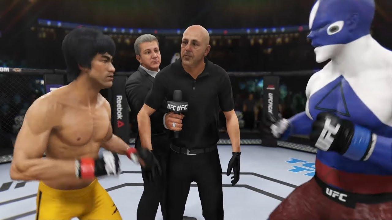 Bruce Lee vs. Latios Pokemon (EA sports UFC 3)